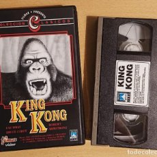 Cine: KING KONG · PELÍCULA VHS · FILMAX · FAY WRAY, ROBERT ARMSTRONG, BRUCE CABOT. Lote 220080006