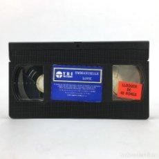 Cine: EL AMOR DE EMMANUELLE LOVE SYLVIA KRISTEL MARCELA WALERSTEIN GEORGE LAZENBY CINE EROTICO ADULTOS VHS. Lote 220539785