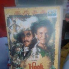 Cine: VHS PELICULA HOOK. EL CAPITÁN GARFIO- COLECCIÓN CINE FAMILIAR 1996. Lote 220682846