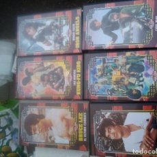 Cine: 6 VHS COLECCIÓN HONG KONG CLASSICS. BRUCE LEE, IRON ANGELS, KUNG-FU KIDS, MAD MISSION,.. Lote 220686266