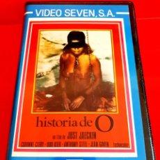 Cine: HISTORIA DE O (1975) - CORINNE CLÉRY, UDO KIER, ANTHONY STEEL - EROTICA ESCLAVE SEXUAL INEDITA EN TC. Lote 220901943