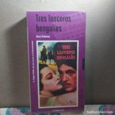 Cine: COLECCIÓN EL MUNDO (61): LOS TRES LANCEROS BENGALÍES.. Lote 221117367