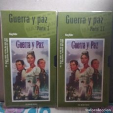 Cine: COLECCIÓN EL MUNDO (64/65): GUERRA & PAZ.. Lote 221118021