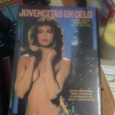 Cine: JOVENCITAS EN CELO BRIGITTE SANSON ALBAN CERAY ANDREA PATI FREDERIQUE MOREAU ELODIE DELAGE PORNO VHS. Lote 221261095