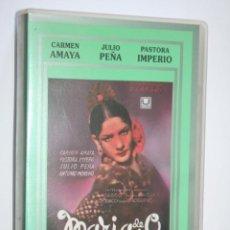 Cine: MARIA DE LA O (CARMEN AMAYA, PASTORA IMPERIO, JULIO PEÑA, ANTONIO MORENO) * VHS CINE CLÁSICO ESPAÑOL. Lote 221268792