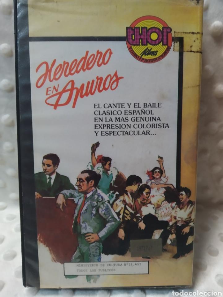 Cine: HEREDERO EN APUROS - EL PRINCIPE GITANO - MIGUEL IGLESIAS - VHS - Foto 3 - 221511642