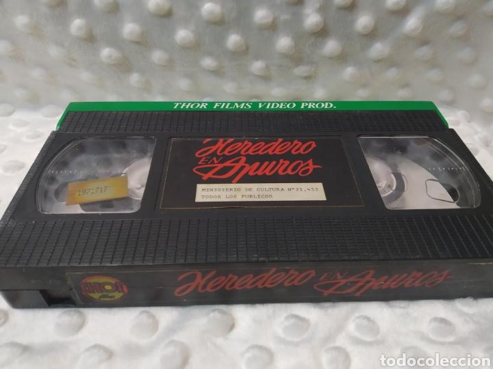 Cine: HEREDERO EN APUROS - EL PRINCIPE GITANO - MIGUEL IGLESIAS - VHS - Foto 5 - 221511642