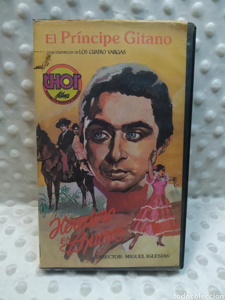 HEREDERO EN APUROS - EL PRINCIPE GITANO - MIGUEL IGLESIAS - VHS (Cine - Películas - VHS)