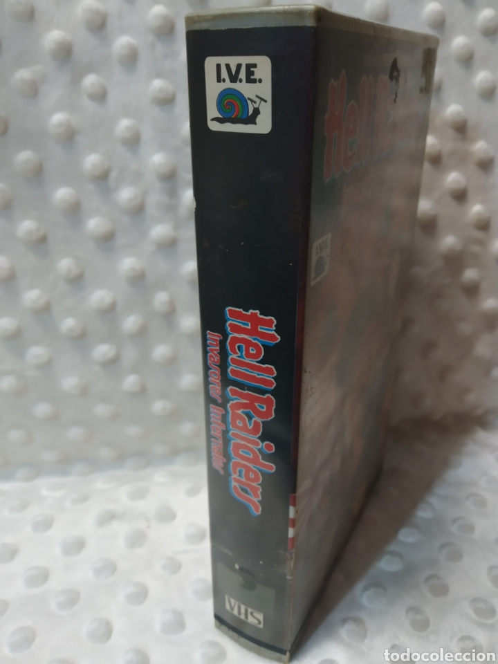 Cine: HELL RAIDERS INVASORES INFERNALES - FERDE GROFE - ROGER KERN , FRANCO GUERRERO - IVE 1987 - VHS - Foto 2 - 221512305