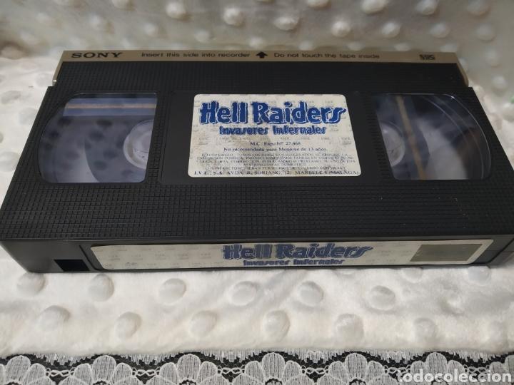 Cine: HELL RAIDERS INVASORES INFERNALES - FERDE GROFE - ROGER KERN , FRANCO GUERRERO - IVE 1987 - VHS - Foto 5 - 221512305