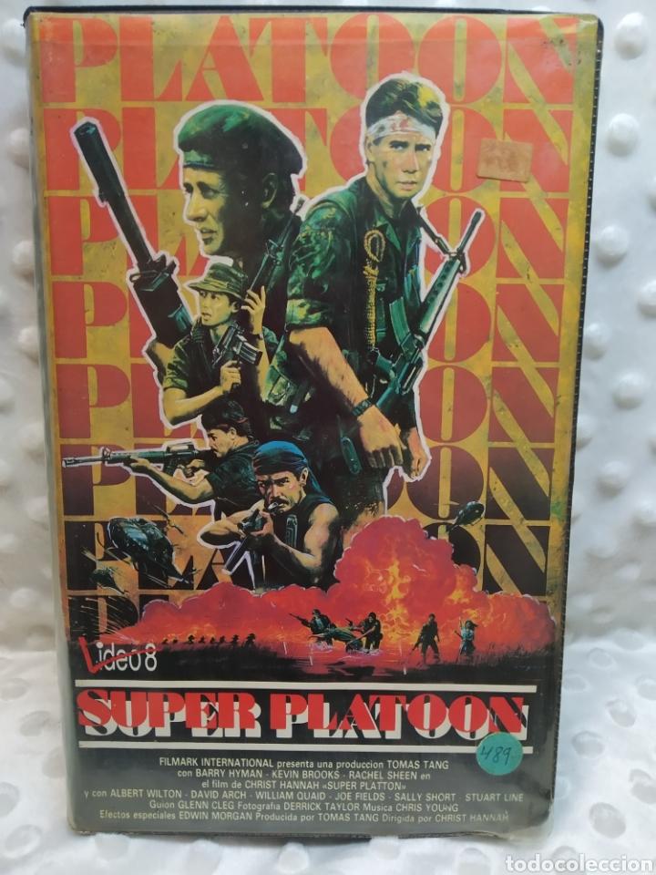 SUPER PLATOON - CHRIST HANNAH - VHS (Cine - Películas - VHS)