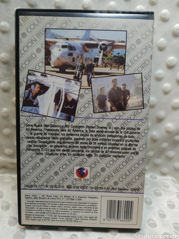 Cine: AIR AMERICA - MEL GIBSON - VHS - Foto 3 - 221514120