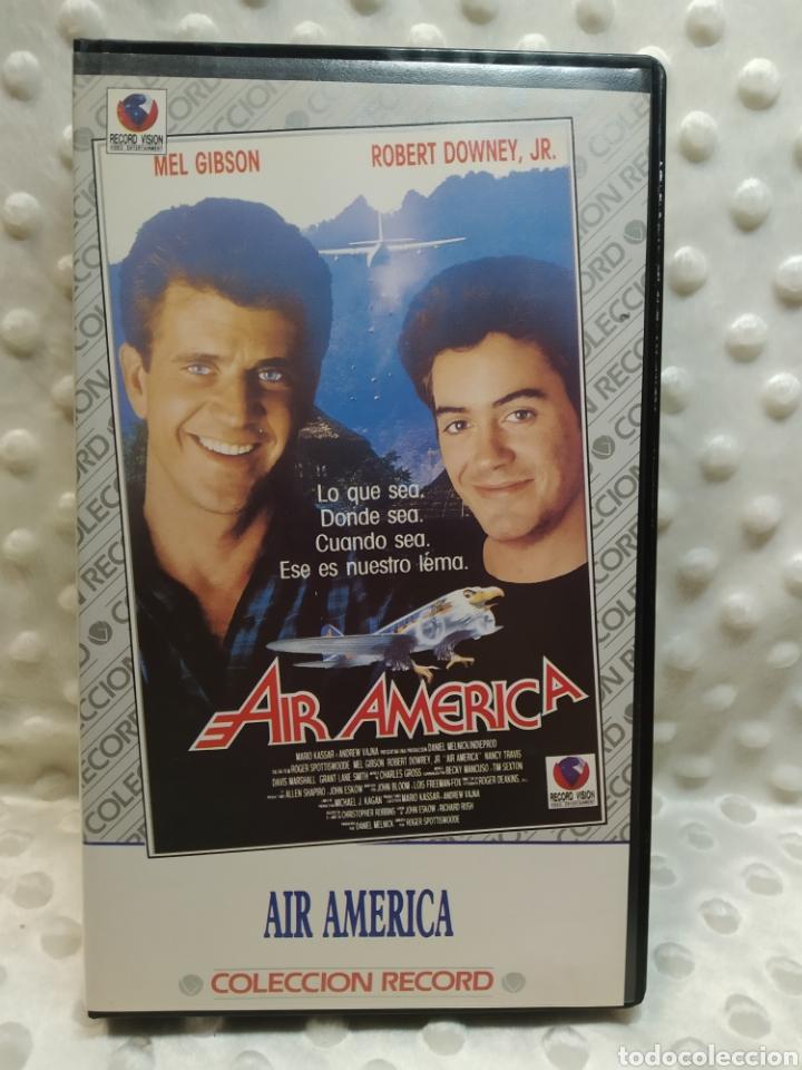 AIR AMERICA - MEL GIBSON - VHS (Cine - Películas - VHS)