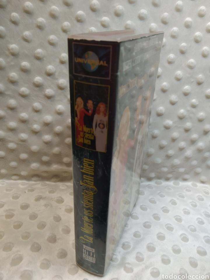 Cine: LA MUERTE OS SIENTA TAN BIEN - MERYL STREEP, BRUCE WILLIS, GOLDIE HAWN - VHS - Foto 2 - 221514383