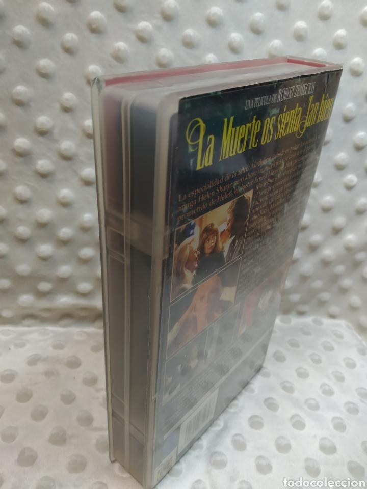Cine: LA MUERTE OS SIENTA TAN BIEN - MERYL STREEP, BRUCE WILLIS, GOLDIE HAWN - VHS - Foto 4 - 221514383
