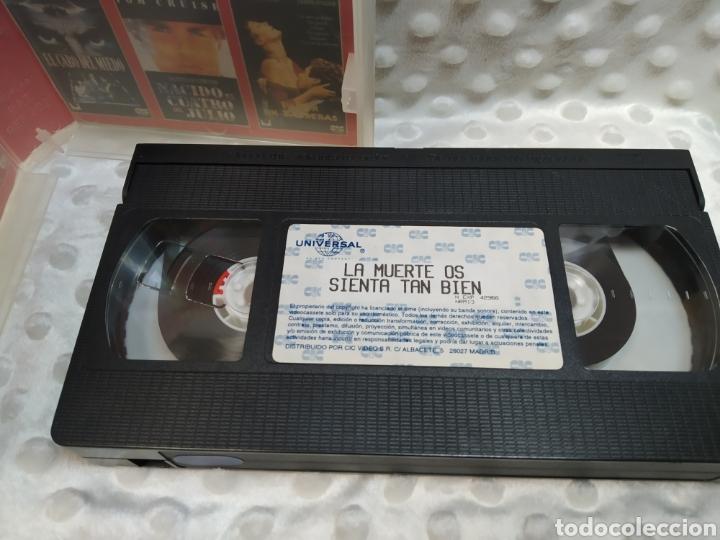 Cine: LA MUERTE OS SIENTA TAN BIEN - MERYL STREEP, BRUCE WILLIS, GOLDIE HAWN - VHS - Foto 6 - 221514383