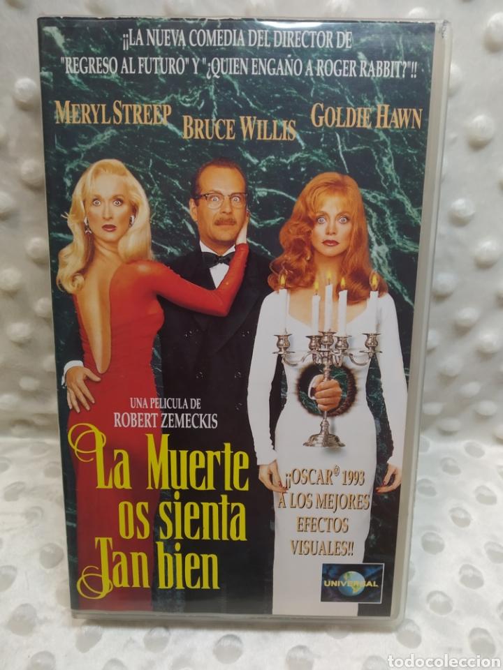 LA MUERTE OS SIENTA TAN BIEN - MERYL STREEP, BRUCE WILLIS, GOLDIE HAWN - VHS (Cine - Películas - VHS)