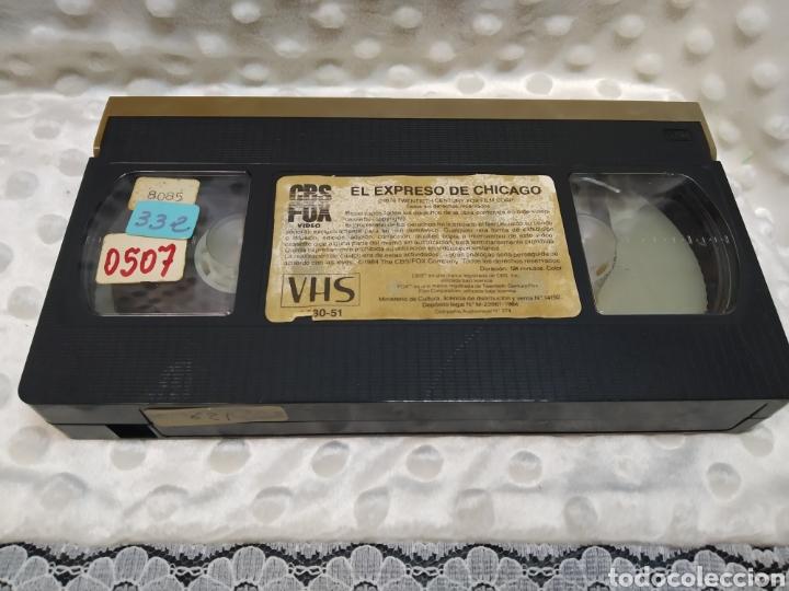 Cine: El Expreso de Chicago (1984) - Arthur Hiller - Gene Wilder, Richard Pryor, Jill Clayburgh - VHS - Foto 5 - 221514701