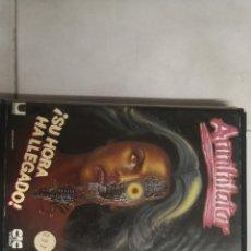 Cine: VHS ANNIHILATOR (1° EDICIÓN, MUY RARA). Lote 221584513