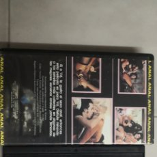 Cine: VHS ANAL LOVER. Lote 221589655