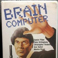 Cine: BRAIN COMPUTER - VHS - ORIGINAL - NUNCA EN DVD - HEATHER O'ROURKE - PETER BILLINGSLEY - NO CORREOS. Lote 221599986