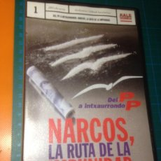 Cine: NARCOS , LA RUTA DE LA IMPUNIDAD . KALE GORRIA 1 . 2001 VHS. Lote 221605168