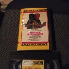 Cine: VHS. MÁS ALLÁ DE LA VIOLENCIA. JEWEL VIDEO. Lote 221607698