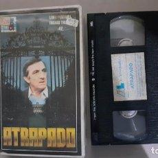 Cine: VHS ATRAPADO (LA CAGE) - LINO VENTURA - INGRID THULIN (EV). Lote 221608073