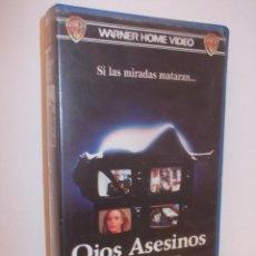 Cine: OJOS ASESINOS - VHS CON ALBERT FINNEY Y JAMES COBURN. Lote 221648905