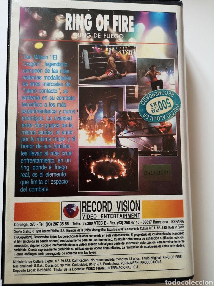 Cine: Ring Of Fire Película en Cinta VHS - Foto 2 - 221651455