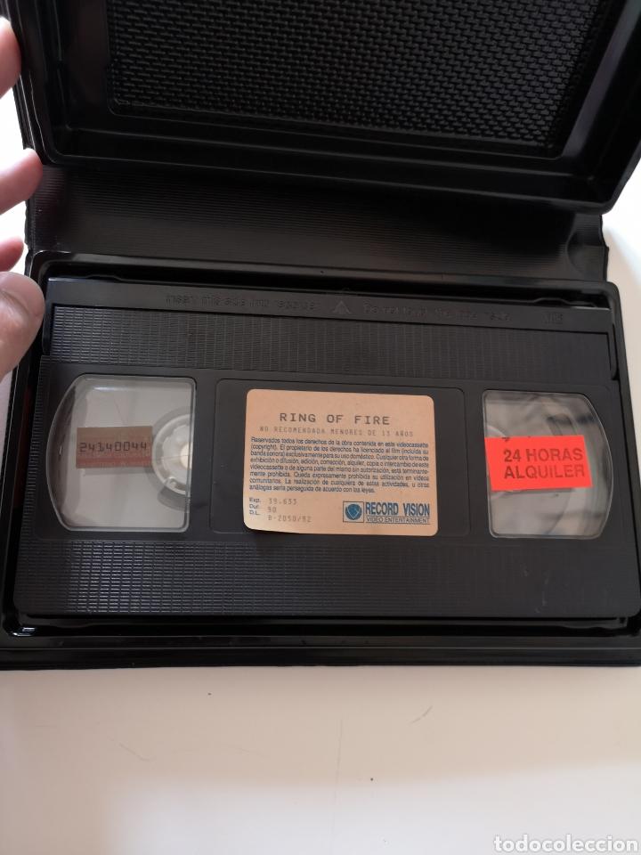 Cine: Ring Of Fire Película en Cinta VHS - Foto 3 - 221651455