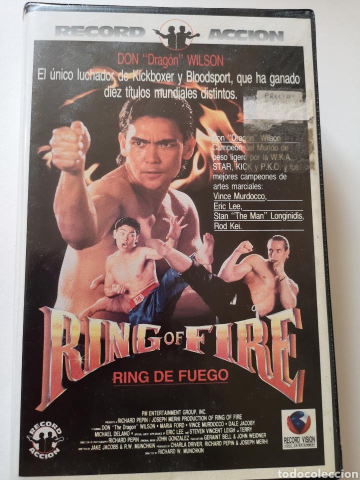 RING OF FIRE PELÍCULA EN CINTA VHS (Cine - Películas - VHS)