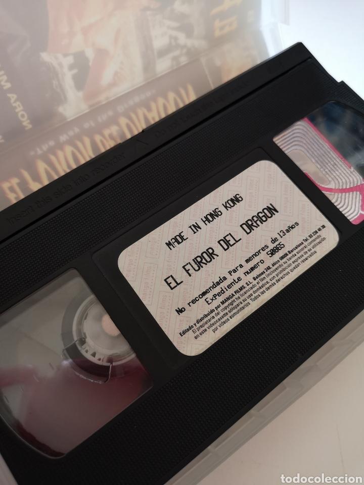 Cine: El Furor Del Dragón Bruce Lee VHS - Foto 3 - 221662016