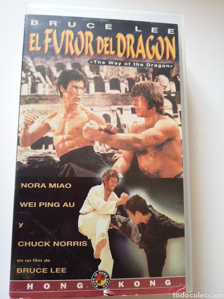 EL FUROR DEL DRAGÓN BRUCE LEE VHS (Cine - Películas - VHS)