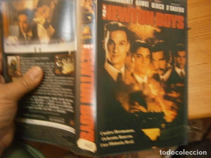 PELICULA VHS, THE NEWTON BOYS (Cine - Películas - VHS)