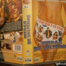 Cine: PELICULA VHS, JUERGA DE SOLTEROS. Lote 221662382