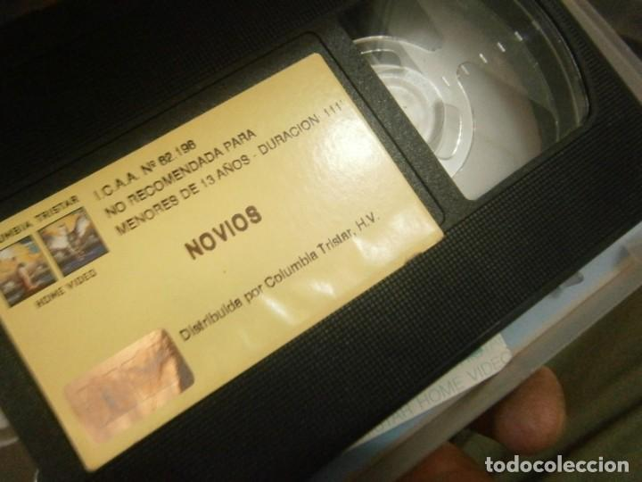 Cine: PELICULA VHS, NOVIOS - Foto 2 - 221662437