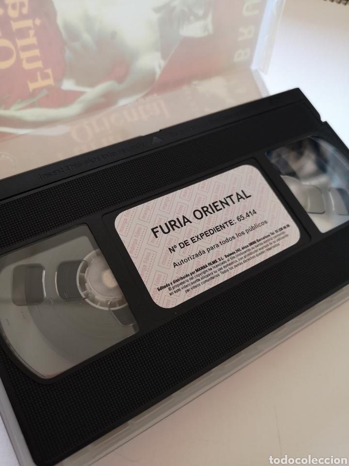 Cine: Fúria Oriental Bruce Lee VHS - Foto 3 - 221662478