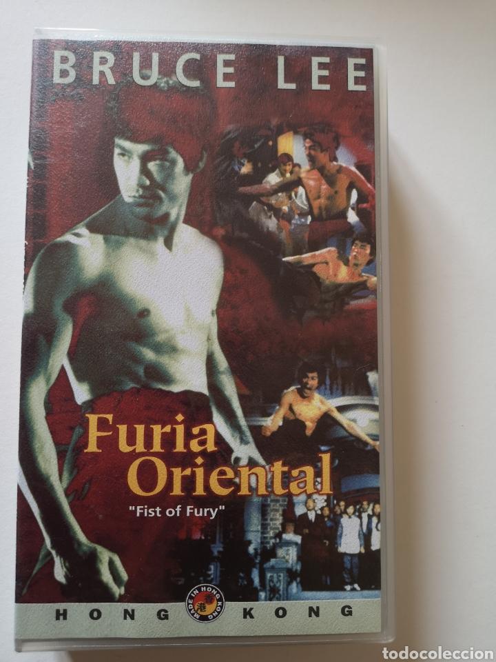 FÚRIA ORIENTAL BRUCE LEE VHS (Cine - Películas - VHS)