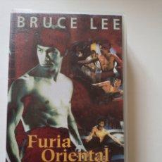 Cine: FÚRIA ORIENTAL BRUCE LEE VHS. Lote 221662478