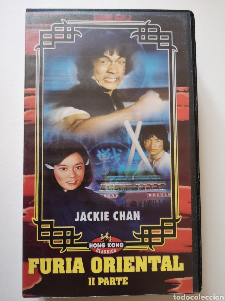 FÚRIA ORIENTAL 2 PARTE JACKIE CHAN VHS (Cine - Películas - VHS)