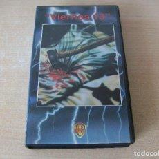 Cine: VIERNES 13 VHS. Lote 221664416
