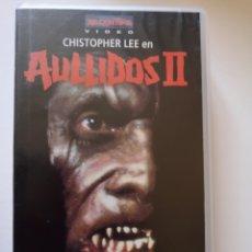 Cine: AULLIDOS 2 CINE DE TERROR VHS. Lote 221668606