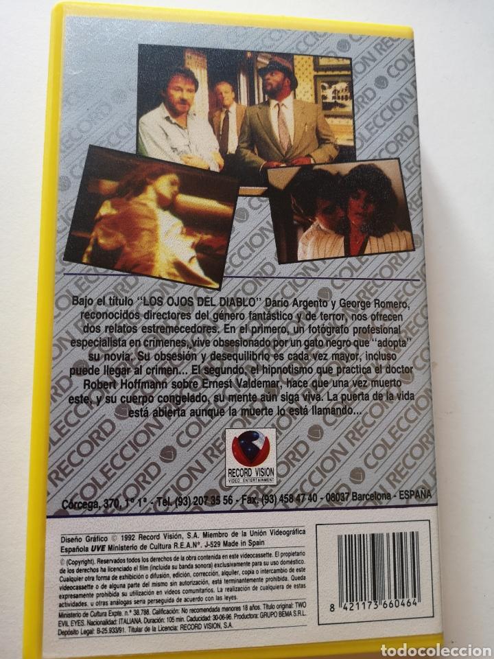 Cine: Los Ojos Del Diablo VHS - Foto 2 - 221694163