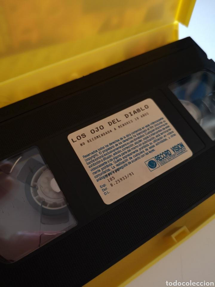 Cine: Los Ojos Del Diablo VHS - Foto 3 - 221694163