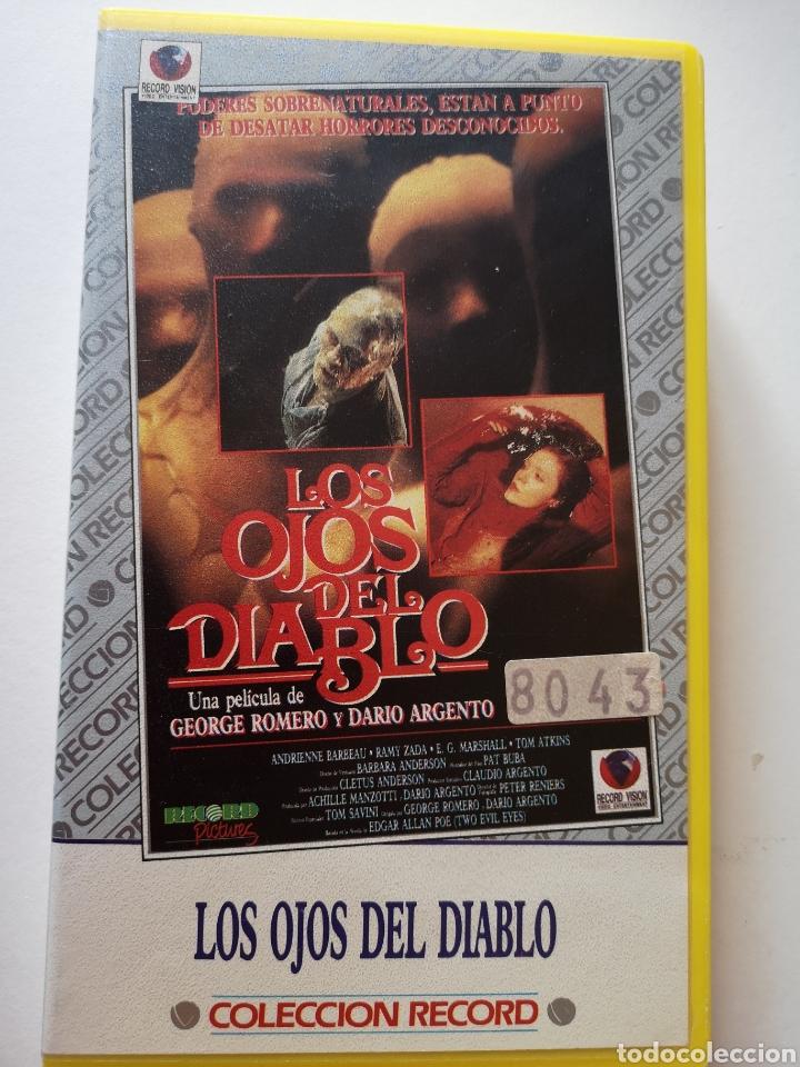 LOS OJOS DEL DIABLO VHS (Cine - Películas - VHS)