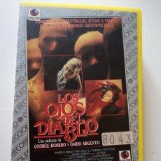 Cine: LOS OJOS DEL DIABLO VHS. Lote 221694163