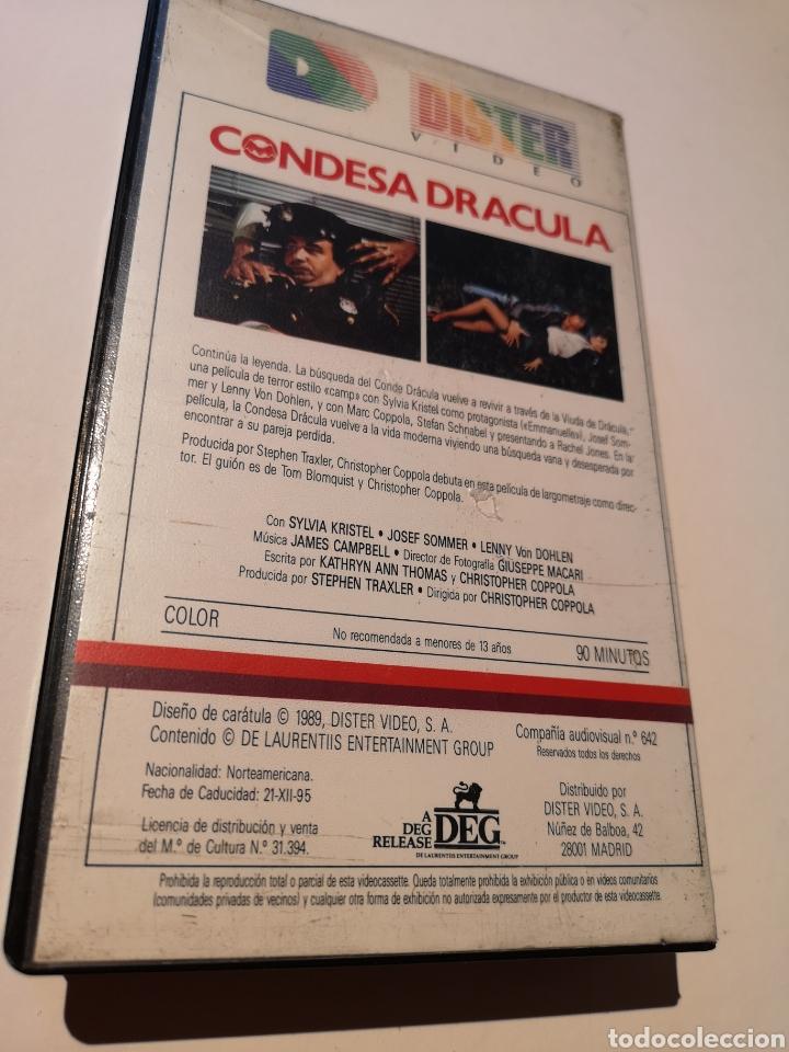 Cine: Condesa Drácula VHS - Foto 2 - 221701415