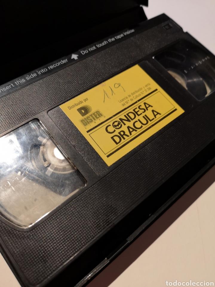 Cine: Condesa Drácula VHS - Foto 3 - 221701415