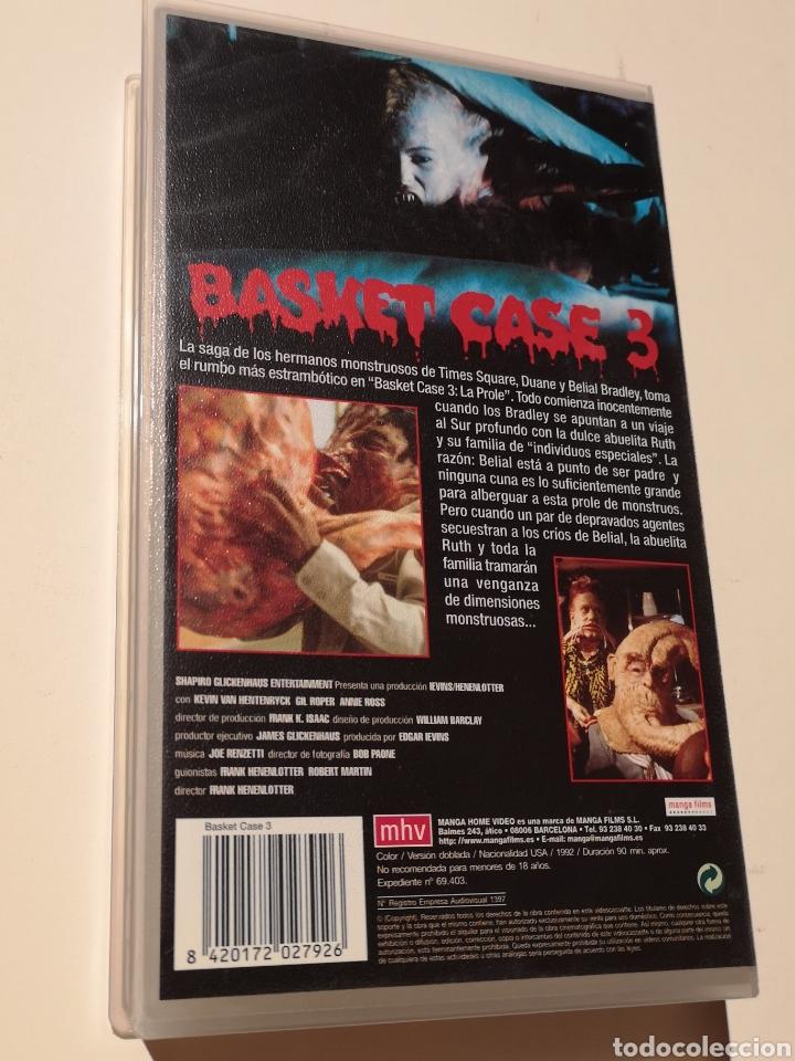 Cine: Basket Case 3 La Prole Cine de Terror VHS - Foto 2 - 221726030